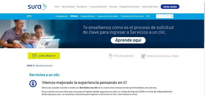Servicios a un clic