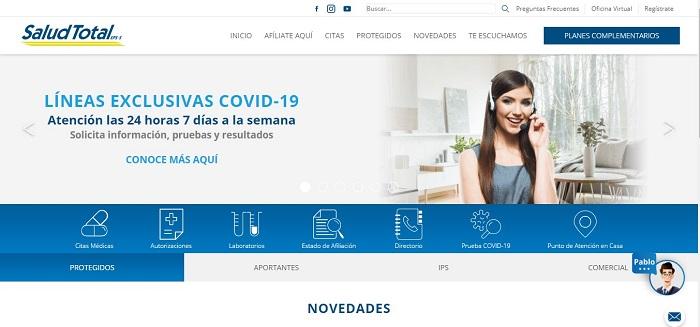 Plataforma Salud Total