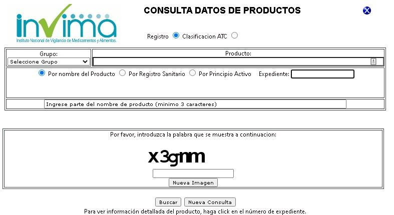 Como consultar el numero de registro sanitario Invima en linea para productos 2021