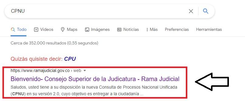Consultar procesos judiciales